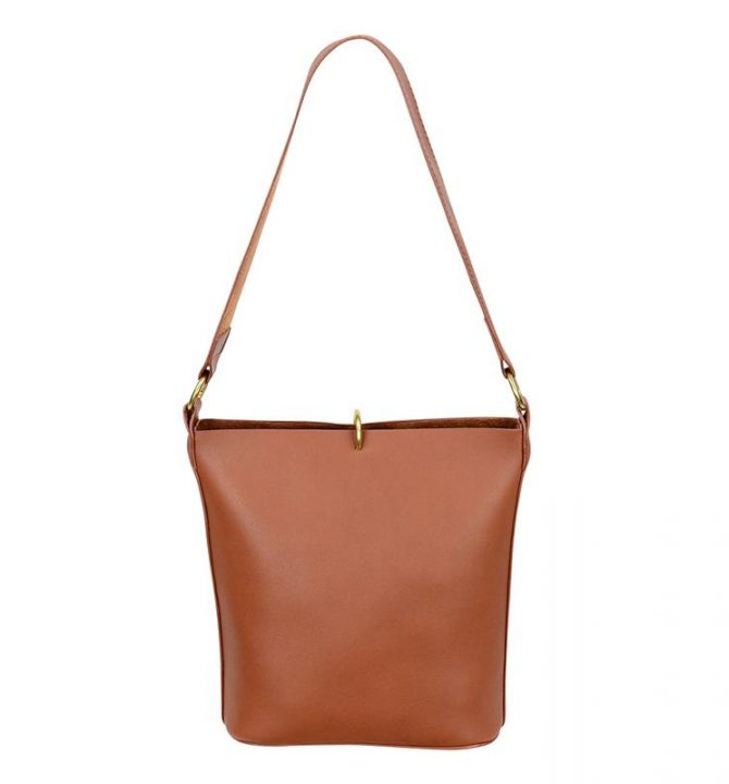 Brie Leon Bucket Bag - Tan