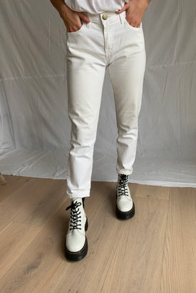 Current Elliott White Denim Jeans