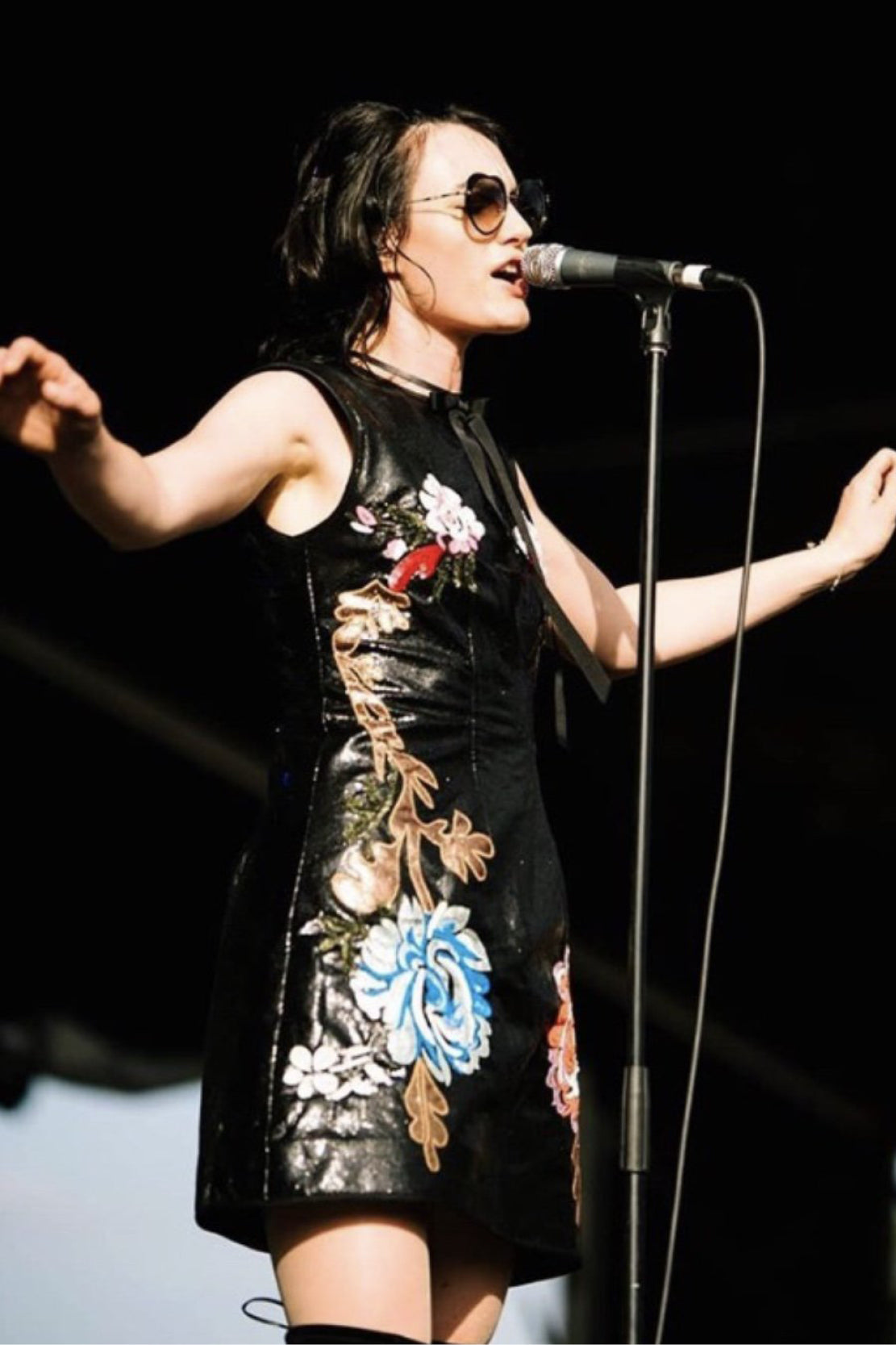 izzi (The Preatures): Romance was Born Embroidered Chinois Dress