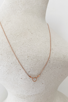 Natalie Marie Dawn Necklace - 9ct Rose Gold
