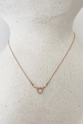 Natalie Marie - Dawn Necklace, 9ct Rose Gold - Worn For Good