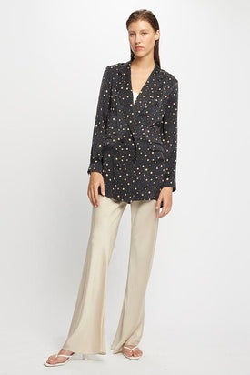 Silk Laundry - Relaxed Blazer, Cosmos - Worn For Good