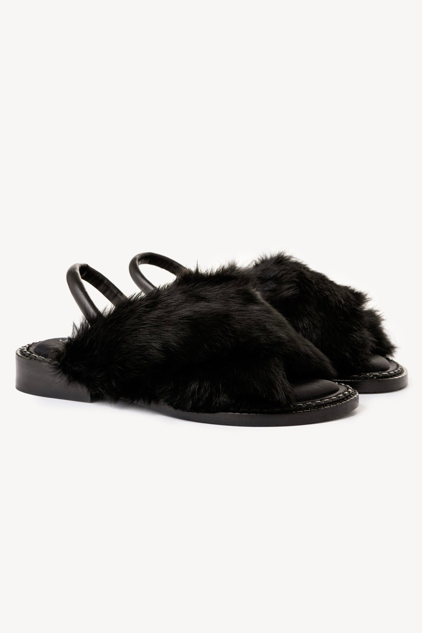 Robert Clergerie black bloss sandal