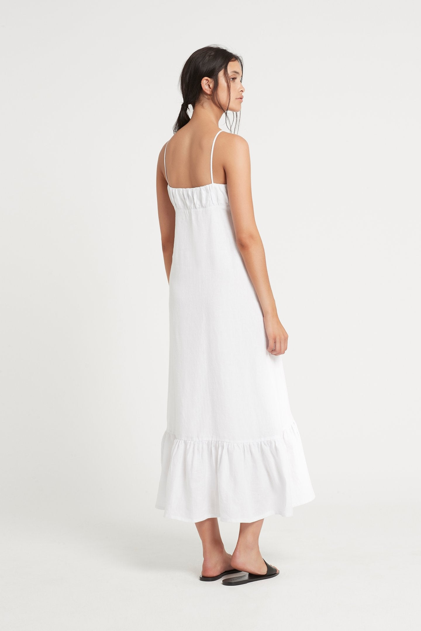SIR The Label Anouk Tie Maxi Dress