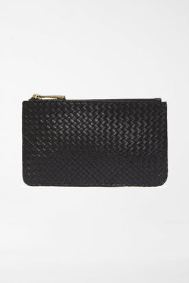 St Agni - Louis Zip Pouch, Black - Worn For Good