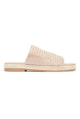 St Agni - Tuscan Woven Espadrille, Seashell - Worn For Good