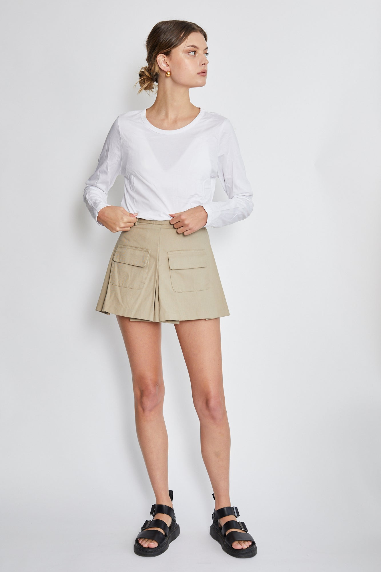 Matthew Adams Dolan draped mini skirt
