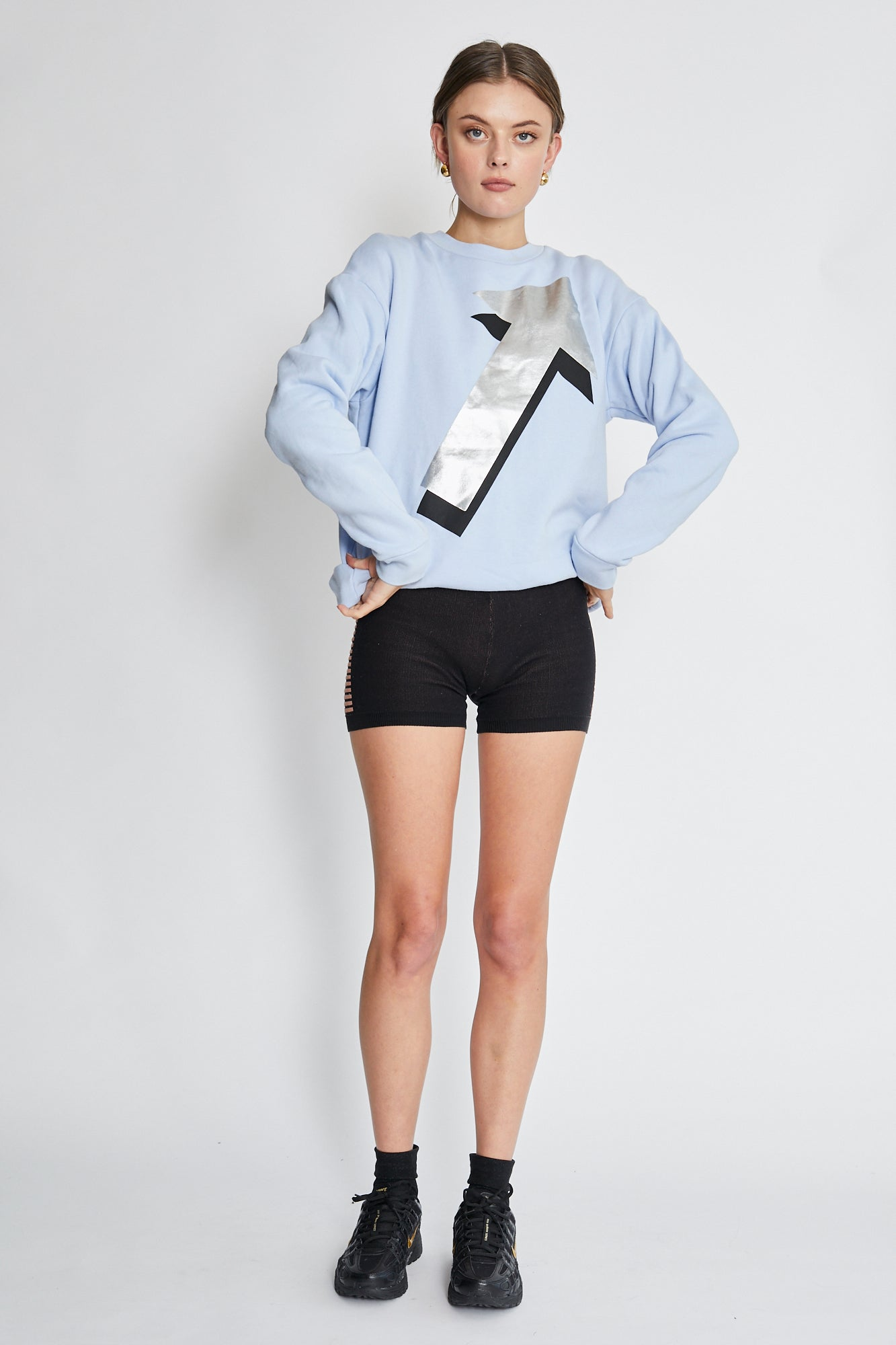 Etre Cecile Blue Sweater