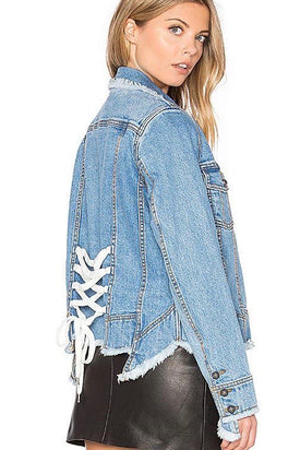 Aje Shields Denim Jacket