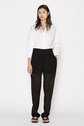 Christopher Esber Tailored Sheer Crinkle Trouser