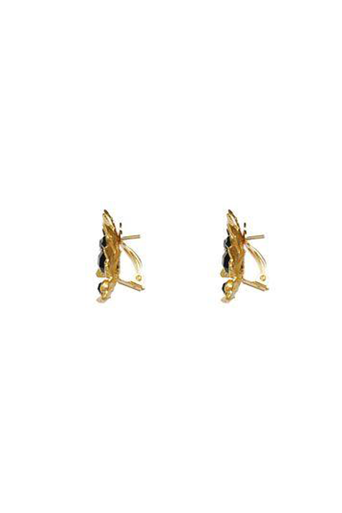 Valere - Lei I Earrings, Black Onyx
