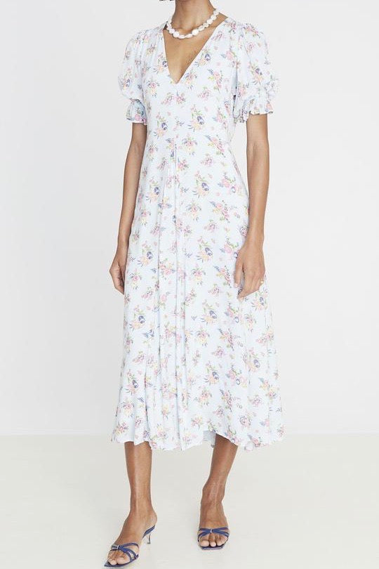 Faithfull Maggie Midi Dress - Juliette Floral Print