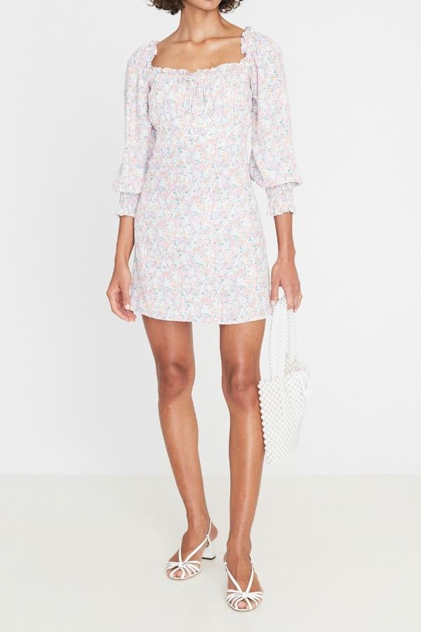 Faithfull Ira Mini Dress - Vionette Floral Print