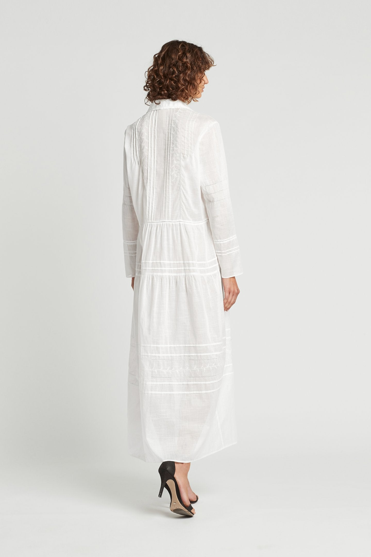 SIR The Label Harper Maxi Shirt Dress