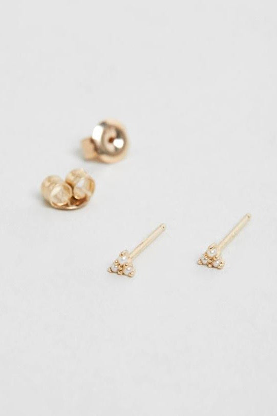 Natalie Marie Dawn Studs - 9ct Yellow Gold