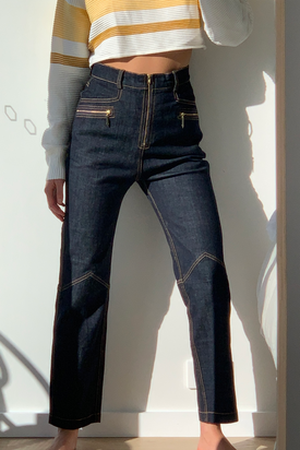 Outland x Karen Walker denim jeans