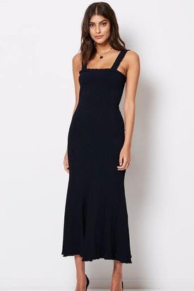 Bec & Bridge Babes Club Midi Dress - Navy