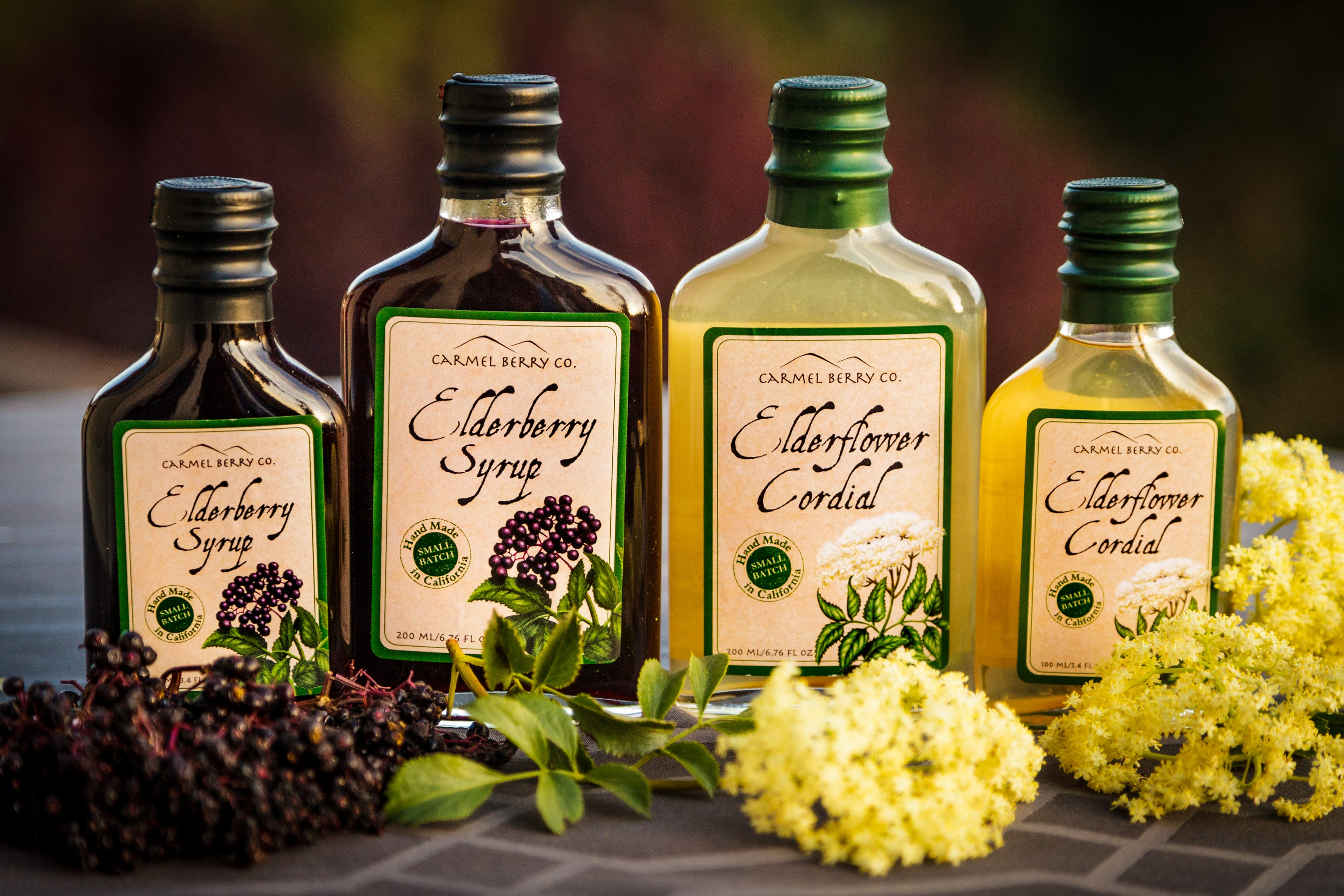 Carmel Berry Co. -- Elderberry & Elderflower Syrup