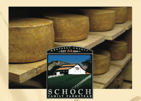 Schoch Family Farmstead - Monterey Farmstead Jack Cheese