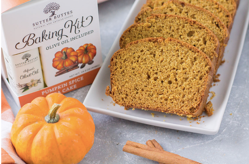 Sutter Buttes Pumpkin Spice Tea Cake Baking Kit