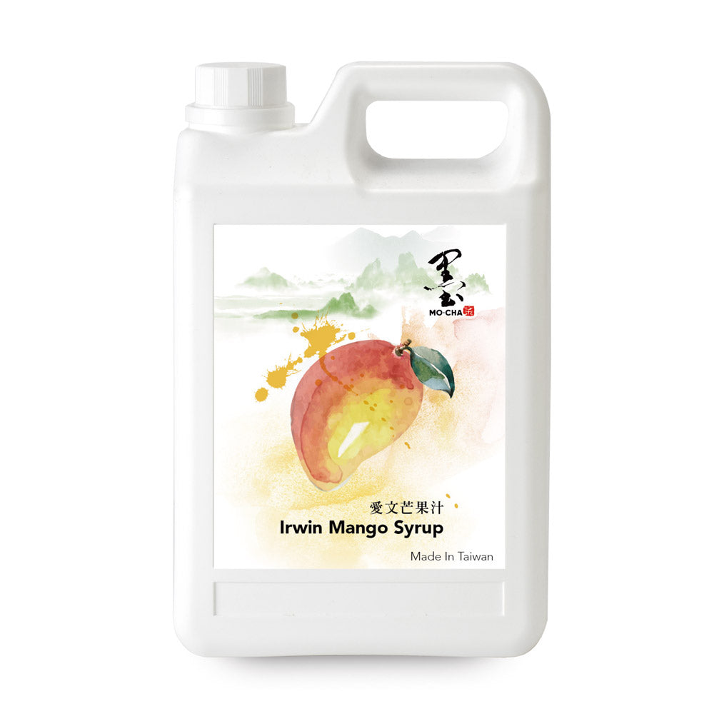 Irwin Mango Syrup Sample Bottle