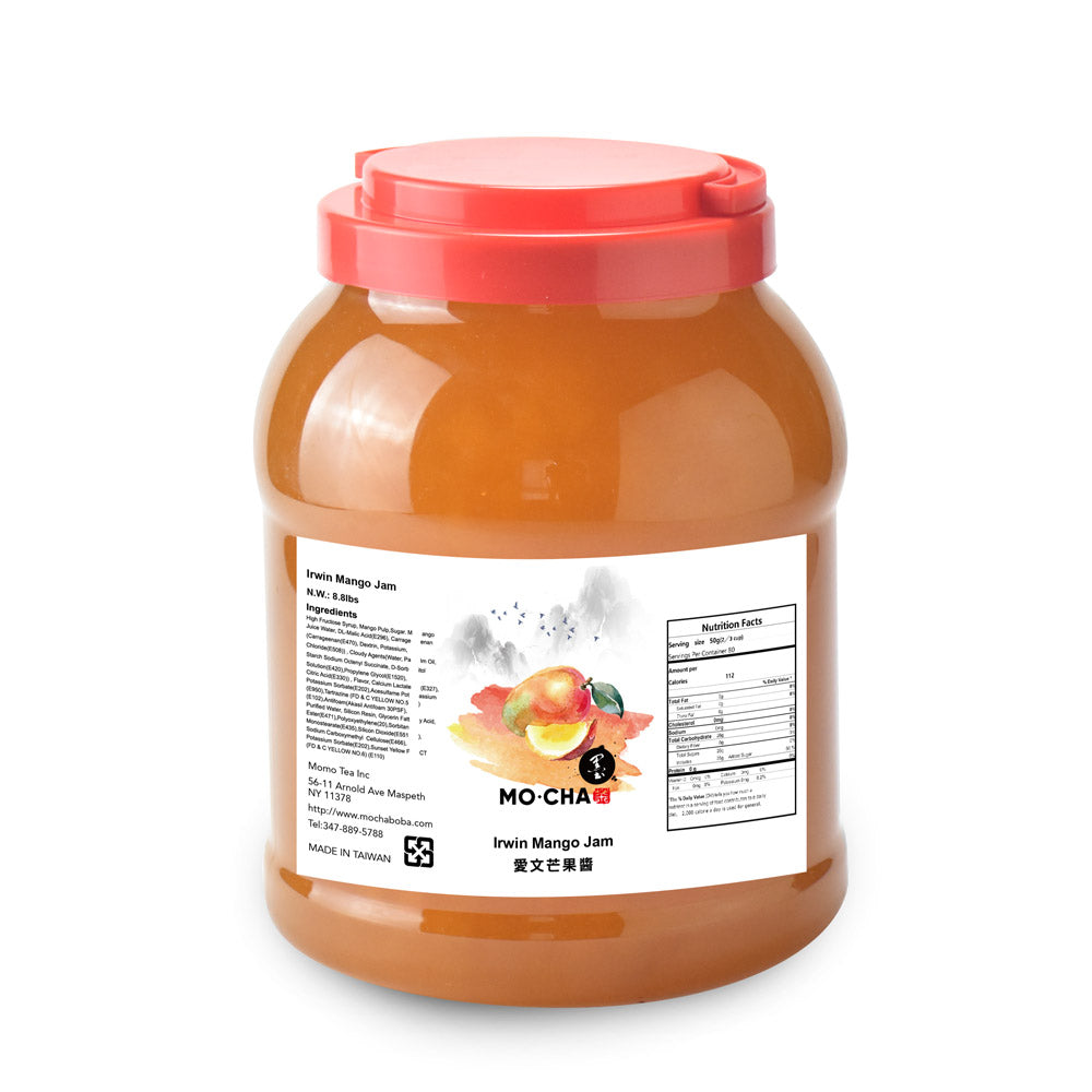Irwin Mango Jam Sample Bottle