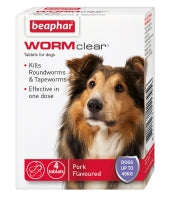 Beaphar WORMclear Tablets for Dogs up to 40kg