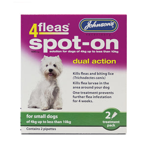 Johnson's 4fleas Spot-On for Small Dogs