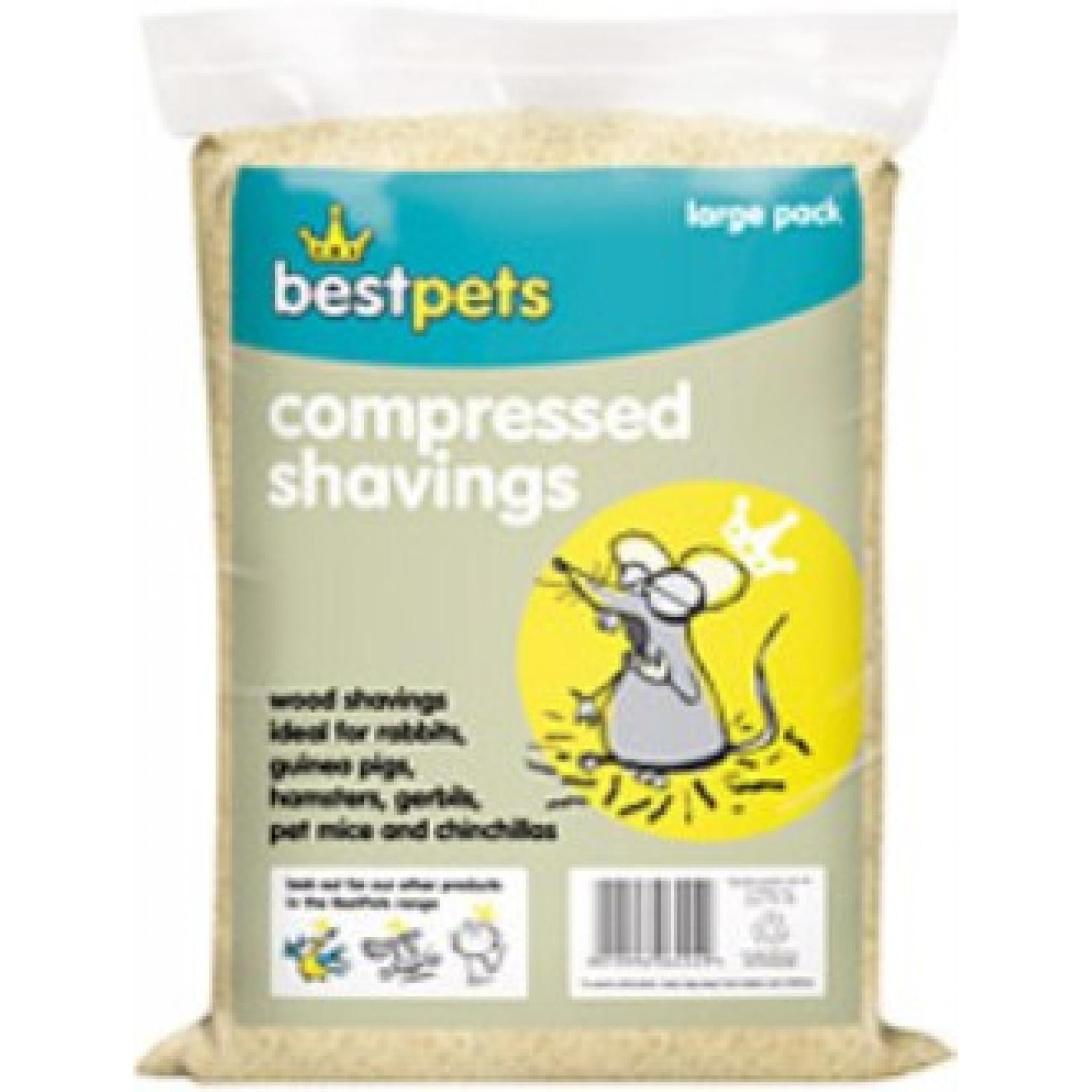 Bestpets Compressed Shavings