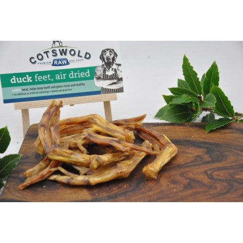 Cotswold Raw Natural Duck Feet