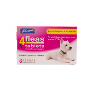 Johnsons 4fleas Tablets for Small Dogs