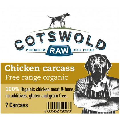 Cotswold Raw Organic Chicken Carcasses