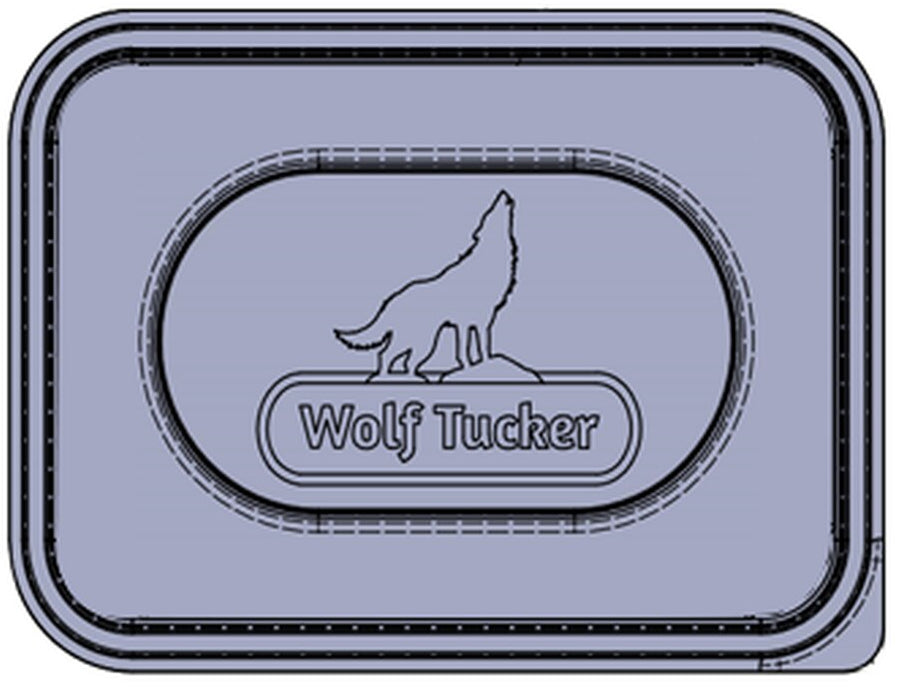 Wolftucker Turkey with Sage 500g Tray