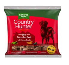 Country Hunter Raw Superfood Nuggets Grass-fed Beef