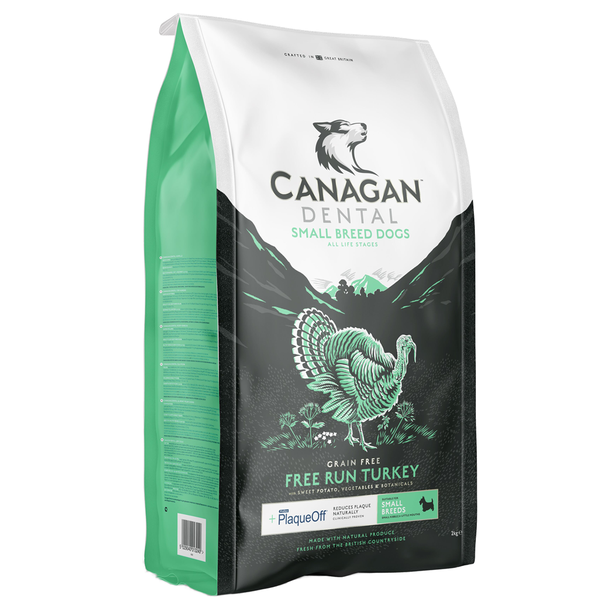 CANAGAN SMALL BREED FREE-RUN TURKEY DENTAL FOR ALL DOGS