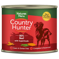 Country Hunter Beef with Superfoods Wet Food