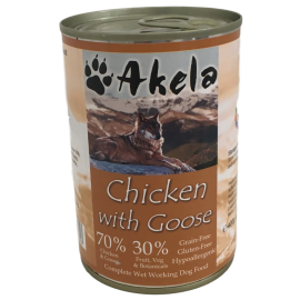 Akela 70:30 Grain-Free Working Dog Wet Food 395g