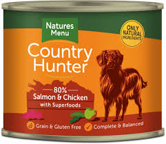 Country Hunter Salmon and Chicken with Superfoods Wet Food