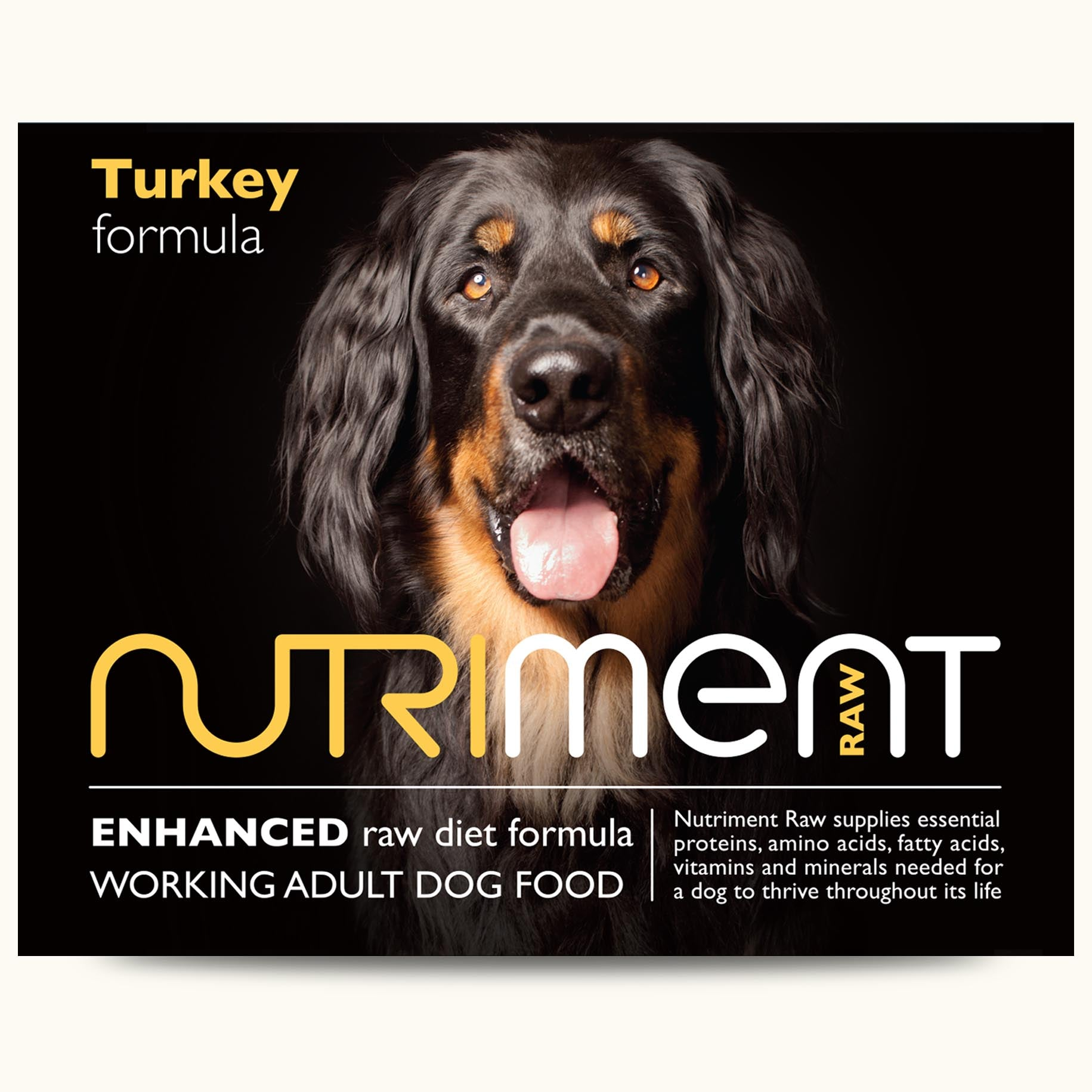 Nutriment Turkey formula – Adult