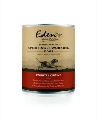 EDEN WET FOOD FOR WORKING AND SPORTING DOGS: COUNTRY CUISINE