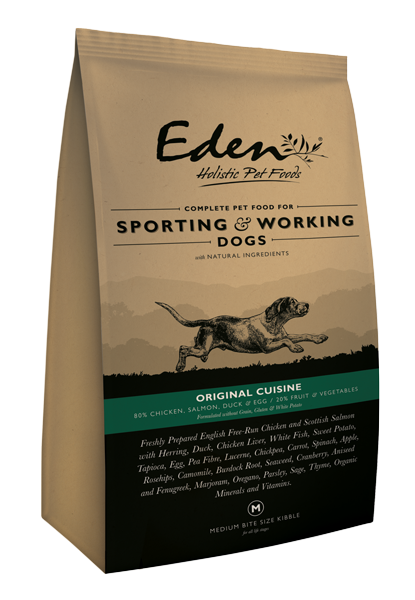 EDEN 80/20 ORIGINAL CUISINE WORKING AND SPORTING DOG FOOD