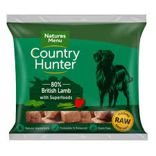 Country Hunter Raw Superfood Nuggets British Lamb
