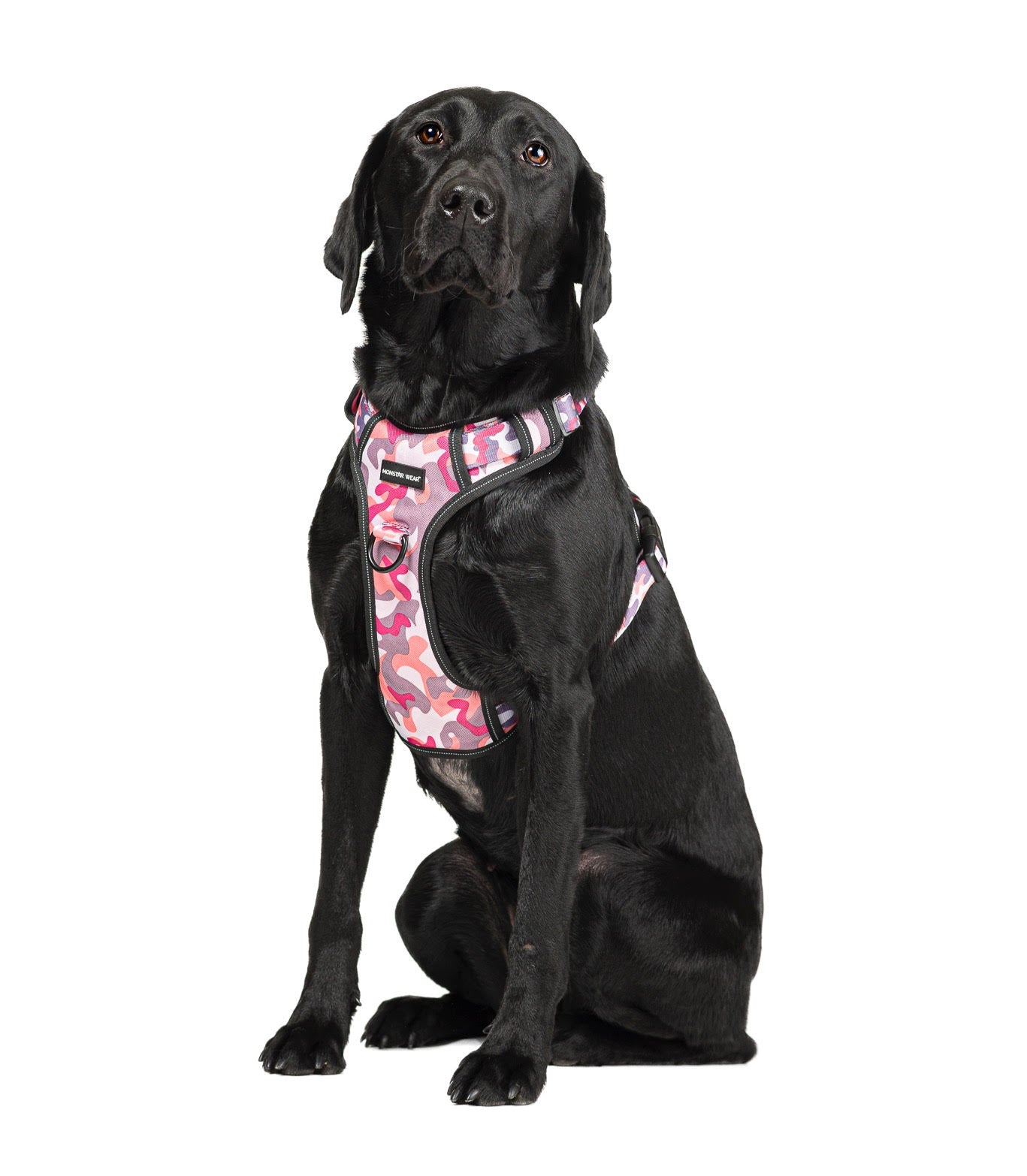 Monstar Wear Pink Camo Harness