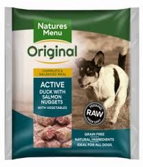 Natures Menu Raw Meals Active Nuggets