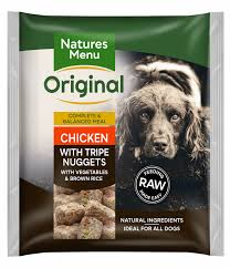 Natures Menu Raw Meal Chicken with Tripe Nuggets