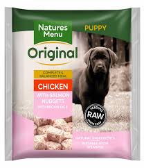 Natures Menu Raw Meals Puppy Nuggets