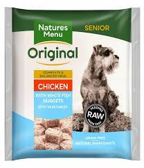 Natures Menu Raw Meals Senior Chicken and Fish Nuggets
