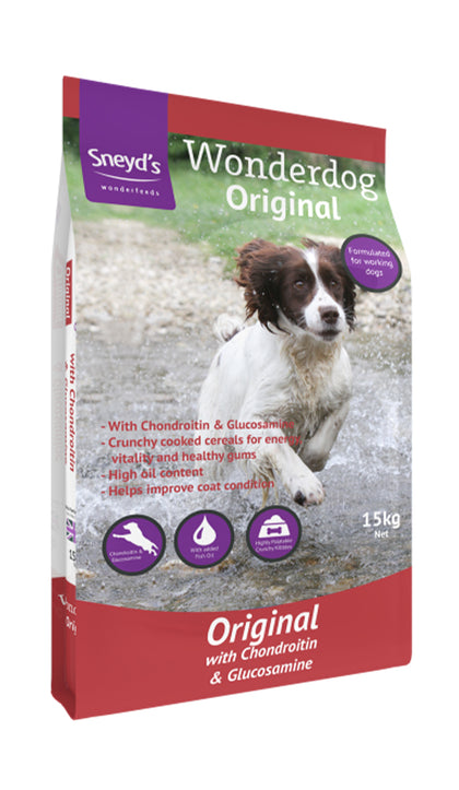 Sneyds Wonderdog Original now with added Joint Care