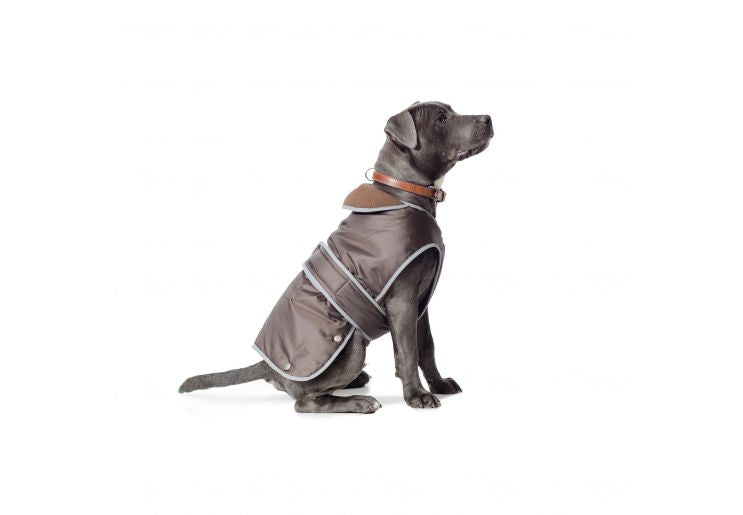 Ancol Muddy Paws Stormguard Coat Chocolate