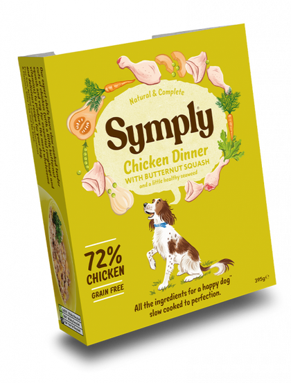 Symply Chicken Dinner Wet Food 395g